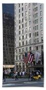 City Life - New York City Beach Towel