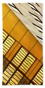 City Lines Beach Towel