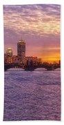 City Nights Beach Towel by Joann Vitali