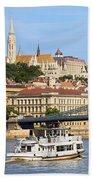 City Of Budapest Beach Towel