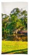 City Park New Orleans Beach Towel