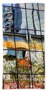 City Reflections By Diana Sainz Beach Towel