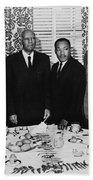 Civil Rights Leaders, 1963 Beach Towel