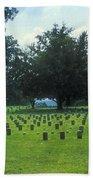 Civil War Gravesites Beach Towel