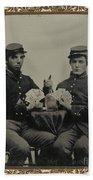 Civil War Soldiers C1863 Beach Towel