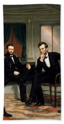 Civil War Union Leaders -- The Peacemakers Beach Sheet