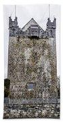 Claregalway Castle - Ireland Beach Towel