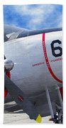 Classic Aircraft Beach Towel