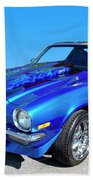 Classic Car 1973 Camaro 1 Beach Towel
