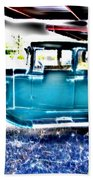 Classic Car 2 Beach Towel