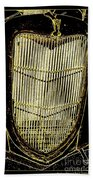 Classic Gold Grill Beach Towel