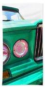 Classic Jeep J3000 4 Wheel Drive By Sharon Cummings Beach Towel