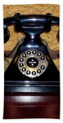 Classic Rotary Dial Telephone Beach Sheet