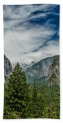 Classic Tunnel View Beach Towel