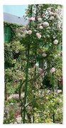 Claude Monets House - Giverney Beach Towel