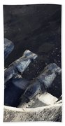 Claw - Industrial Photography By Sharon Cummings Beach Towel