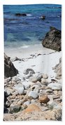 Clear California Cove Beach Towel