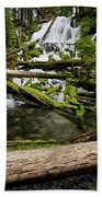 Clearwater Falls Beach Towel