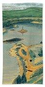 Clearwater Lake Early Days Beach Towel