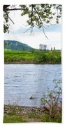 Clearwater River In Nez Perce National Historical Park-id  Beach Towel