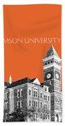 Clemson University - Coral Beach Towel