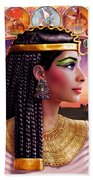 Cleopatra Variant 3 Beach Towel