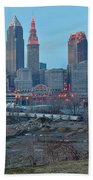 Clevelands Urban Side Beach Towel