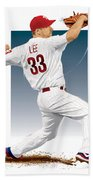 Cliff Lee Beach Towel