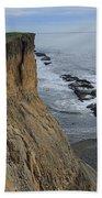 D3a6138-cliffs At Bolinas  Beach Towel