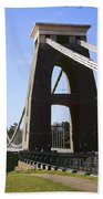 Clifton Suspension Bridge Bristol Beach Towel
