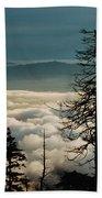 Clingman's Dome Sea Of Clouds - Smoky Mountains Beach Towel
