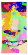 Clint Eastwood Abstract 01 Beach Towel