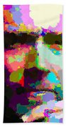 Clint Eastwood - Abstract Beach Towel