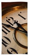 Clock Face Beach Towel