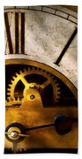 Clockmaker - What Time Is It Beach Towel