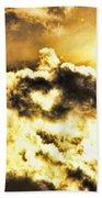 Cloud Of Love Beach Towel