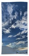 Cloud Puffs Beach Towel