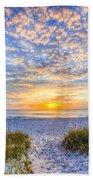Clouds At Dawn Beach Towel