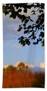 Clouds Clearing Beach Towel
