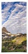Clouds In Glacier Beach Towel