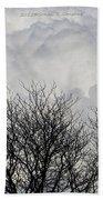 Clouds Named Cotton Beach Towel
