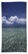 Clouds Over Bora Bora Beach Towel