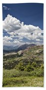 Clouds Over Crested Butte Beach Towel