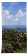 Clouds Over Mountains, Flores Island Beach Towel