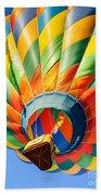 Clovis Hot Air Balloon Fest 5 Beach Towel