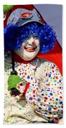 Clowning Around Beach Towel