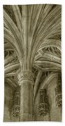 Cluny Museum Ceiling Detail Beach Towel