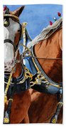 Clydesdale Duo Beach Towel