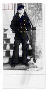Coast Guard Sailor 1942 Beach Towel