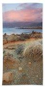 coast of Crete 'I Beach Towel